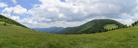 mala fatra: Mala Fatra mountain, Slovakia, Europe - Panoramic view in National park Mala Fatra