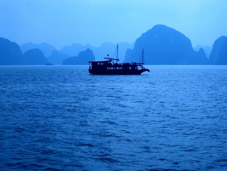 ha: Ha Long Tour Stock Photo