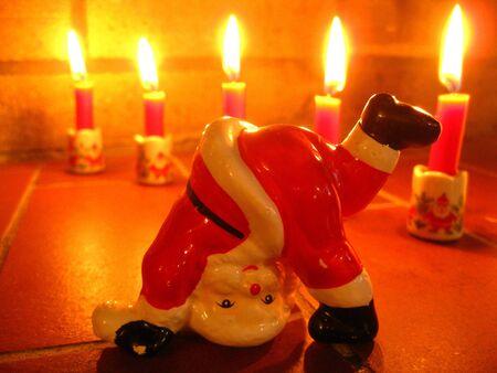 Santa Claus dancing photo