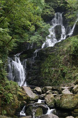 kerry: torc waterfall Stock Photo