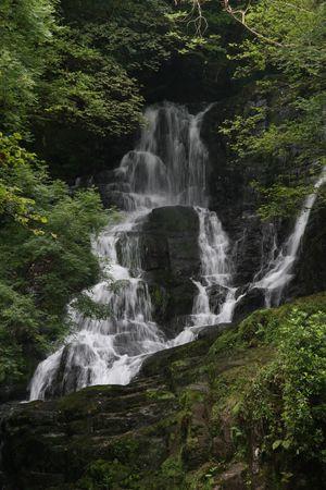 torc waterfall Stock Photo