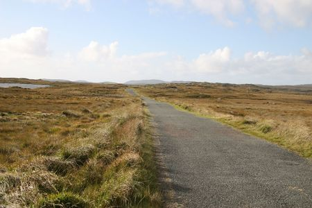 remoteness: connemara Stock Photo