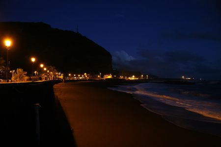 beach at night Stock Photo - 3222974