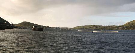 kilary harbour Stock Photo