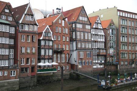 old framework houses