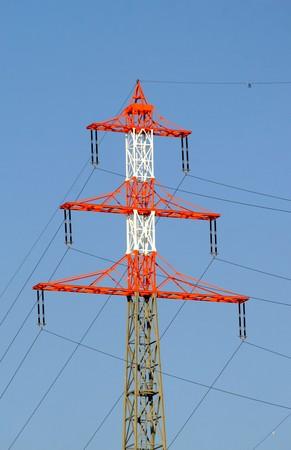 high-tension pole