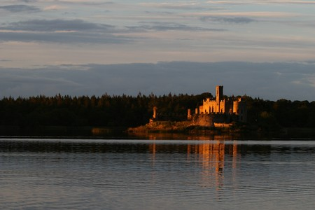 lough: castle island in lough key