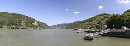 middle rhine valley  Stock Photo
