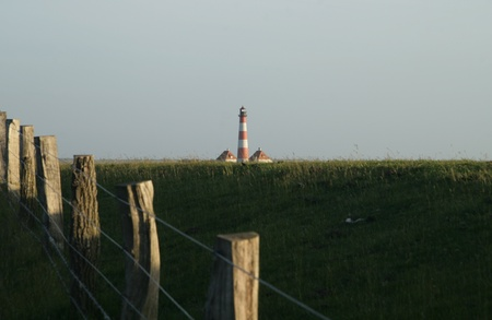Westerheversand Lighthouse Stock Photo - 22128456