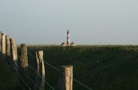 Westerheversand Lighthouse Stock Photo - 22128456