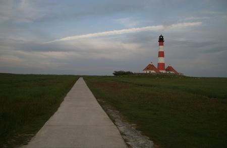 Westerheversand Lighthouse Stock Photo - 22128566