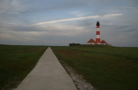 westerheversand lighthouse: Westerheversand Lighthouse
