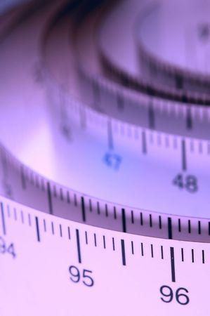 cintas metricas: Un rollo de cinta m�trica