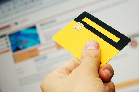 Internet based e-commerce conceptual with an smart card