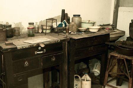 A modern day alchemist lab