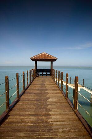 Pier at Kerachut Island, Penang Stock Photo - 353649