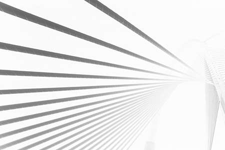 An abstract lines pattern based on a modern bridge design