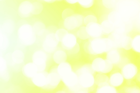 Light motion blur on yellow abstract background