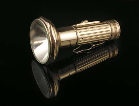 Old hand lamp 免版税图像