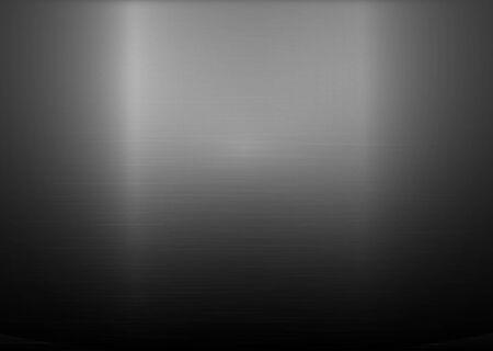 haltbarkeit: Vektor-Illustration der geb�rstetem Silber Metallic-horizontale Hintergrund Illustration