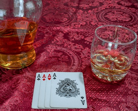 Playing cards may have been invented during the Tang dynasty around the 9th century AD as a result of the usage of woodblock printing technology