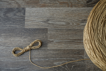 A rope is a group of yarns, plies, fibers or strands that are twisted or braided together into a larger and stronger form.