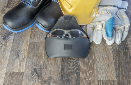 Protective equipment for work where there is a risk of injury during work