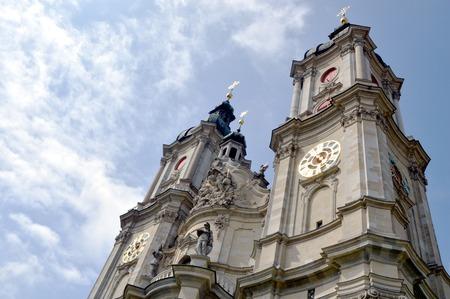 st  gallen: Iglesia St Gallen Foto de archivo