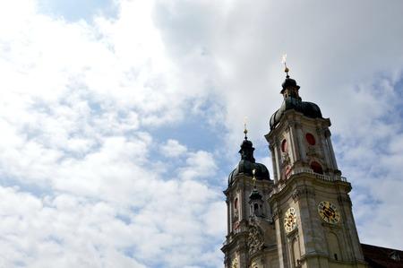 st gallen: St  Gallen church