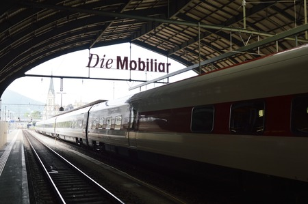 st  gallen: estaci�n de tren de St. Gallen
