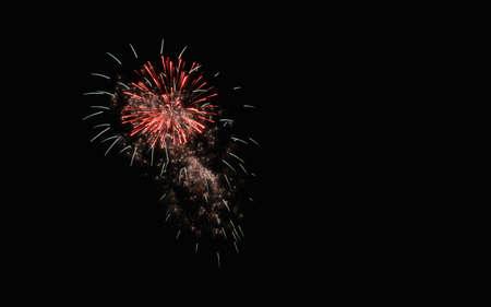 celebrated: celebrated fireworks