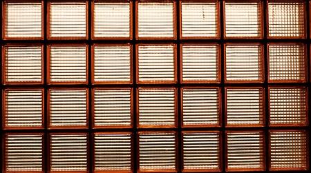 light transmission: glass box Stock Photo