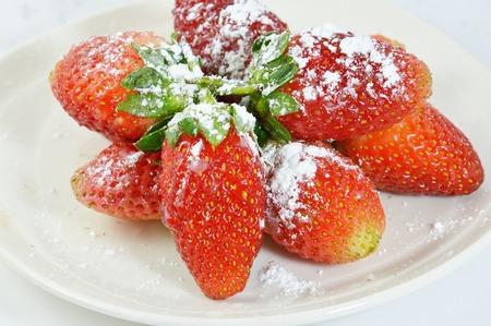 sucre glace: de sucre glace � la fraise