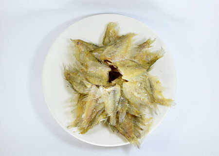 gourami: fired Gourami on dish
