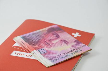 stagnation: Swiss banknote
