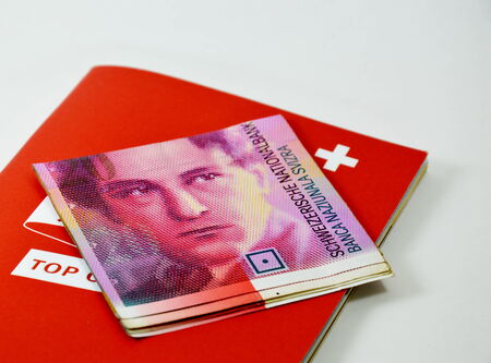 stagnation: Swiss banknote