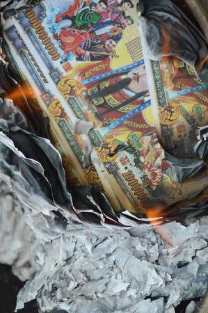 infierno: infierno quema de billetes