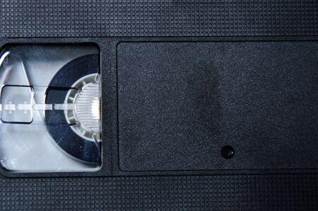 grabadora: cassette de video Foto de archivo