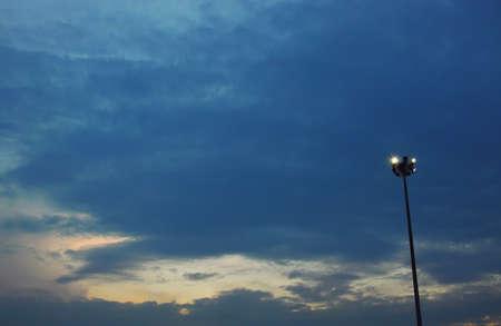 spot light: spot light pole