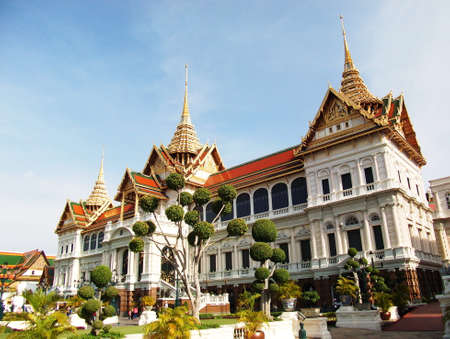 the grand palace: grand palace in Thailand Editorial