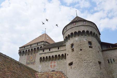 chillon: Chillon castle in Switzerland