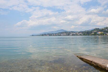 Genfer See in der Schweiz