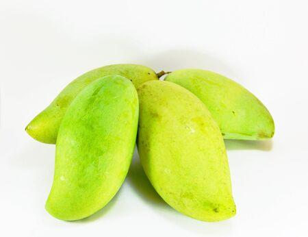 digest: green mango Stock Photo