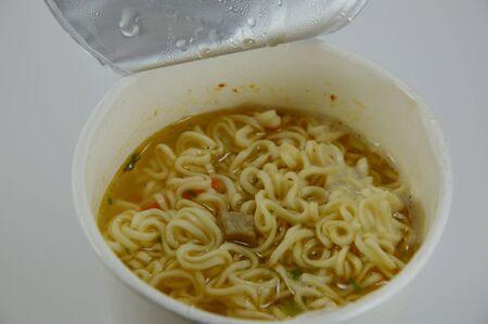 instant noodle: instant noodle in paper cup