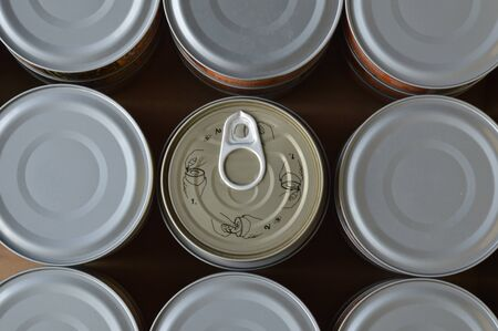 can opener: can opener Stock Photo