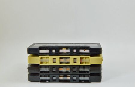 superannuated: cassette tape Stock Photo
