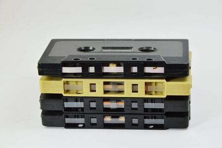 generation x: cassette tape Stock Photo