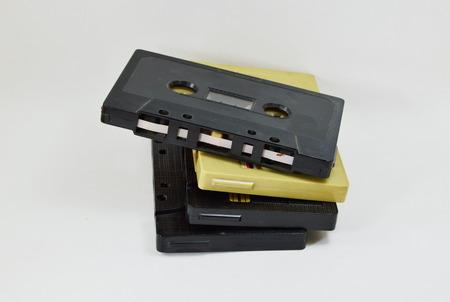 superannuated: cassette tape recorder