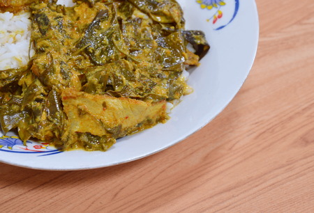 cassia: cassia tree curry with mackerel