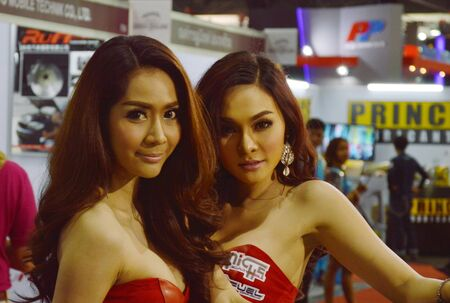 BANGKOK, THAILAND- June 25, 2015 : Bangkok International Auto Salon 2015 event by licensed from Japan at Impact Challenger Muengthong Thanee
